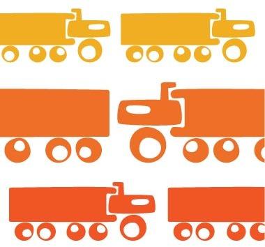 Avalisa Trucks Stretched Print
