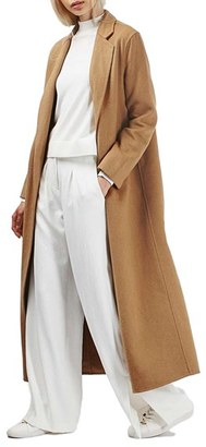 Topshop Butted Seam Duster Coat $180 thestylecure.com