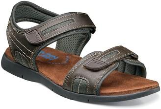 Nunn Bush Rio Grande River Mens Two-Strap Open Toe Sandals