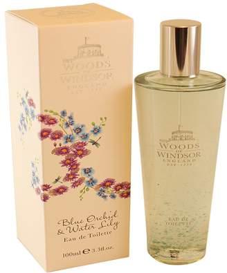 Woods of Windsor Blue Orchid & Water Lily Eau De Toilette Spray for Women, 3.3 fl. Oz.