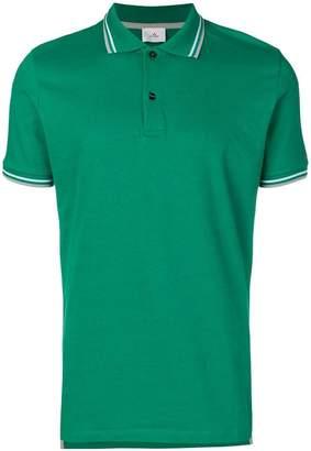Peuterey striped trim polo shirt