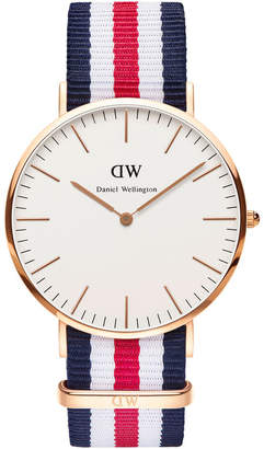 Daniel Wellington Classic Canterbury 40mm Rose Gold Watch
