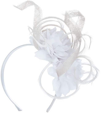 Vineyard Vines White Floral Fascinator by Jenny Pfanenstiel