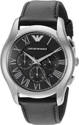 Emporio Armani Men's AR1700 Classic Analog Display Analog Quartz Black Watch