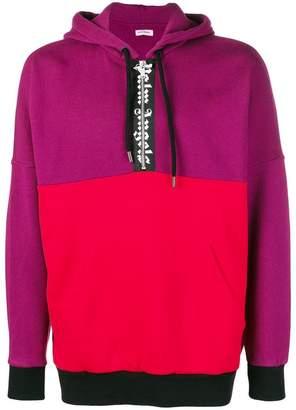 Palm Angels colour block hoodie
