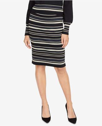 Rachel Roy Striped Sweater Skirt