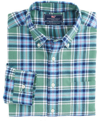 Vineyard Vines Hammersmith Performance Flannel Slim Murray Shirt