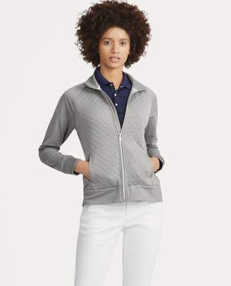 Ralph Lauren Quilted Mockneck Zip Jacket