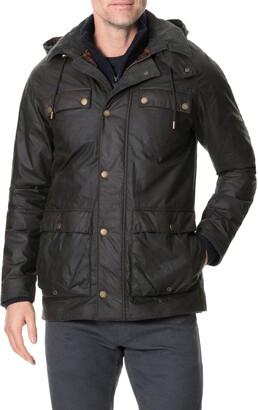 Rodd & Gunn Glenorchy Waxed Cotton Field Jacket