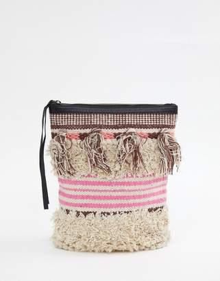 Cleobella Gabby textured tassel backpack