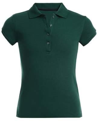 Nautica Short Sleeve Uniform Polo (Big Girls)