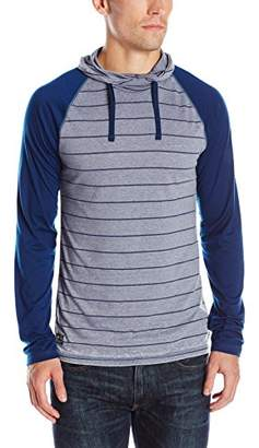 Buffalo David Bitton Men's Kigreen Long Sleeve Fashion Burnout Knit Shirt