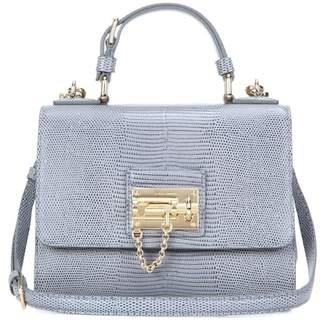 Dolce & Gabbana Monica Small embossed leather shoulder bag