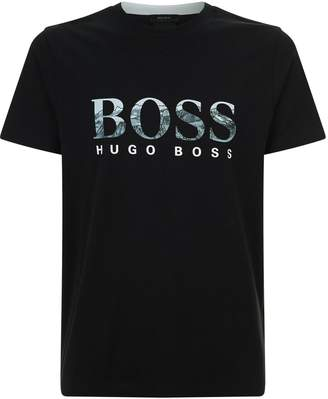 BOSS GREEN Mountain Logo T-Shirt