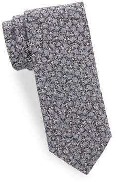 Saks Fifth Avenue Tonal Silk Tie