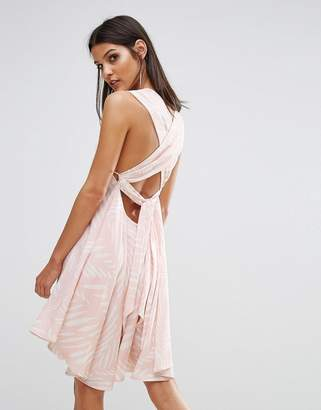 Finders Keepers Finders I Spy Tie Back Dress