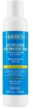 Kiehl's Activated Sun Protector Sunscreen for Body SPF 50/5 oz.