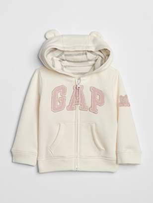 Gap Baby Brannan Bear Logo Hoodie Sweatshirt