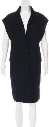 Proenza Schouler Cashmere-Blend Longline Vest