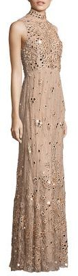 Alice + Olivia Susanne Embellished Lace Gown $1,695 thestylecure.com