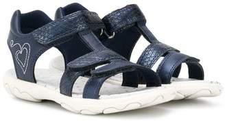 Geox Kids touch strap fastening sandals