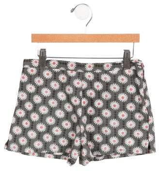 Caramel Baby & Child Girls' Floral Woven Shorts