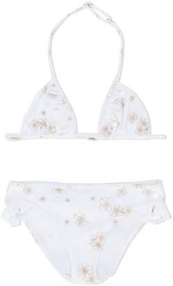 Christian Dior floral print bikini with sarong
