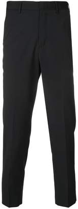 Pt01 slim-fit pleated trousers