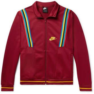 f4fc78c2ba40 Nike Sportswear Loopback Cotton-Blend Tech-Jersey Track Jacket