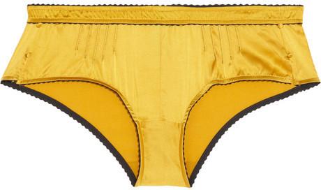 Elle Macpherson Intimates Casablanca stretch-silk satin briefs