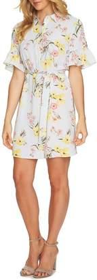 Cynthia Steffe CeCe by Botanical Blooms Shirt Dress