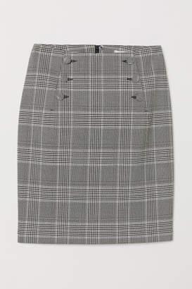 H&M Knee-length Skirt - Black