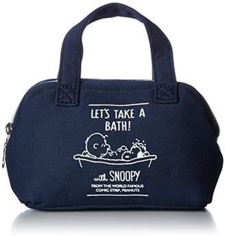 Snoopy [スヌーピー] スヌーピー ハンドル付 がま口 ポーチ mams-0127b NV BATH/NV(0129)
