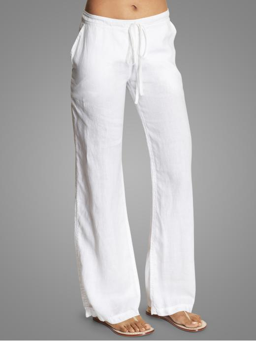 Michael Stars Linen Drawstring Pants