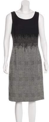 Oscar de la Renta Wool Tweed Dress
