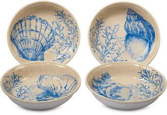 Certified International 4-Pc. Seaside Soup/Pasta Bowls Set