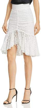 Milly Brittany Ruched Skirt