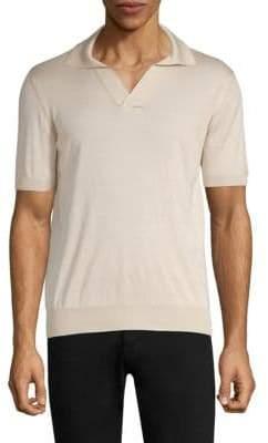 Larusmiani Silk Polo Shirt