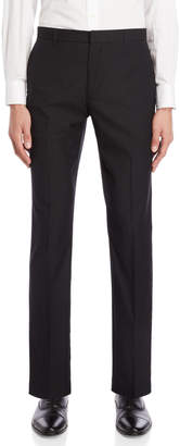 Perry Ellis Black Slim Fit Stretch Dress Pants