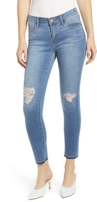 Articles of Society Carly Distressed Crop Skinny Jeans