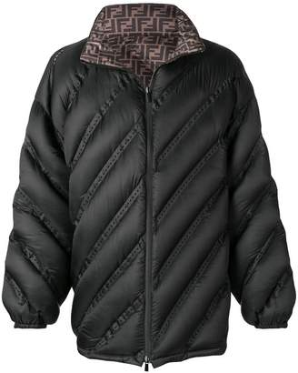 Fendi two tone padded jacket