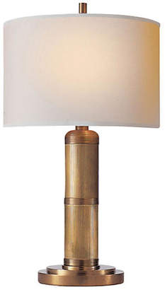 Visual Comfort & Co. Longacre Small Table Lamp - Brass