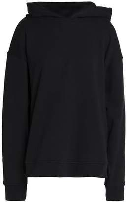 Alexander Wang Oversized Appliquéd French Cotton-Terry Hoodie