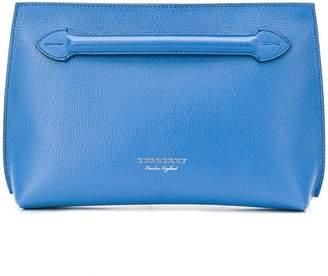 Burberry hand strap clutch bag