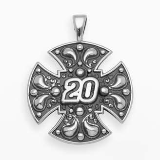"Insignia Collection NASCAR Matt Kenseth Sterling Silver ""20"" Maltese Cross Pendant"