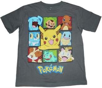 Pokemon Boxes Boys T-shirt 4-16 (X-Small (4/5))