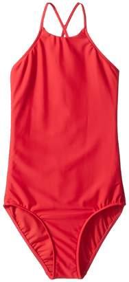 Seafolly Marrakesh Sunset Plain Tank One Piece Girl's Swimwear Sets