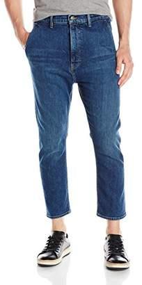 Vince Men's Cropped Denim Trouser