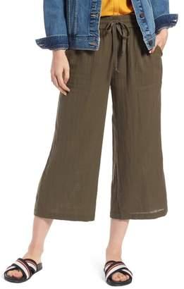 Treasure & Bond Wide Leg Crop Pants