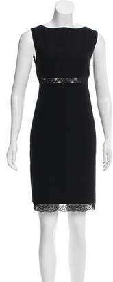 Michael Kors Lace-Trimmed Mini Dress